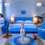Capitonage Bedroom Collection: Blue Can Be Happy
