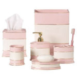 Girlie Bathroom with Carlisle Pink Bath Collections