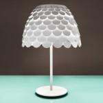Carmen Table Lamp: A Stylish Lamp With Shell-like Shade