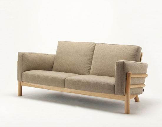 Karimoku Castor Sofa by Big-Game Design Studio