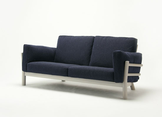 Karimoku Castor Sofa by Big-Game Design Studio