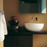 Ceramica Flamina Dip Basin Made of Ceramics