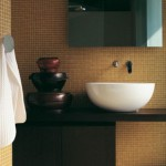 Ceramica Flamina Dip Basin Made of Ceramics