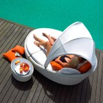 Sun Bathing with Eclipse Chair from Gloster