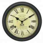 Enjoy A Classic Yet Elegant Clock With Your Chaney Instruments Vintage Port Wine Wall Clock