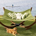 Enjoy The Sun with The 4-Pole Hammock from Pottery Barn