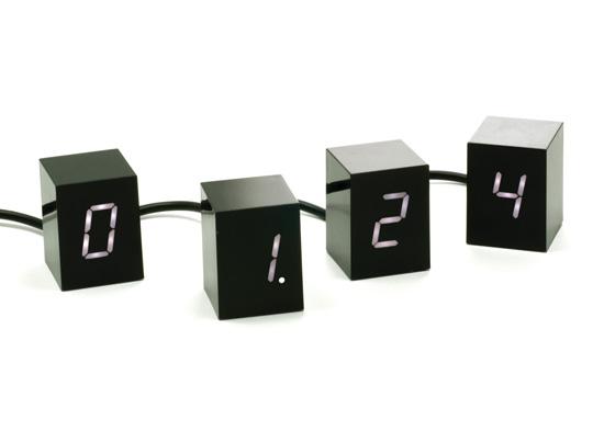 Top 20 Christmas Gift Ideas for Modern Homes - Jonas Damon Numbers LED Alarm Clock