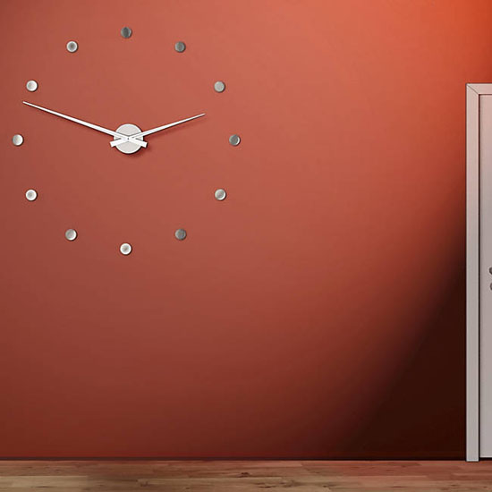 Top 20 Christmas Gift Ideas for Modern Homes - Radius Wall Clock by Michael Rosing