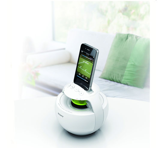 Circle Sound Speakers by Sony