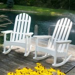 Classic Adirondack Rocker Collection For A Relaxing Outdoor Stay