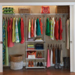 DIY ClosetMaid 53-inch W Smart Closet Maximizer System for Better and Organized Closet