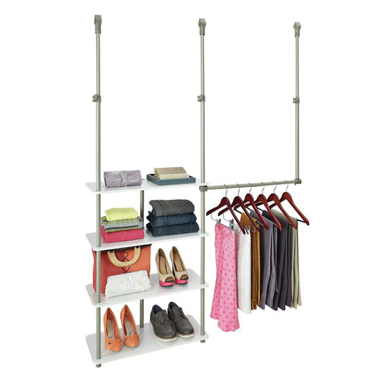 ClosetMaid 53-inch W Smart Closet System