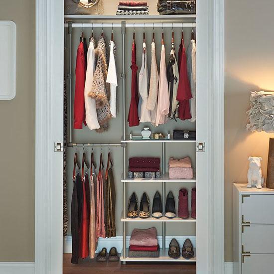 ClosetMaid 53-inch W Smart Closet System