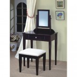 Face The Mirror Beautifully And Elegantly With The Elegant Coaster Cappuccino Vanity Table Set