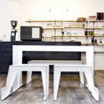 Save Some Space With The Compact Café Table