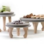 Concrete Plates For Your Solid Meal