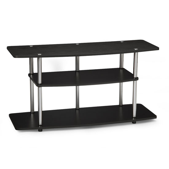 Convenience Concepts Design-2-Go Wide 3-Tier Wood Grain TV Stand