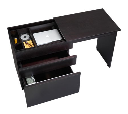 Convertible Compact Desk By Crate And Barrel Modern Home