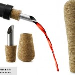 Stylish Cork Wine Stopper And Pourers For A Fun Drinking Session With Friends