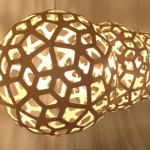 Handmade Coral Pendant Lamp by David Trubridge for Co-Designers