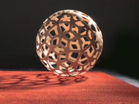 coral pendant lamp