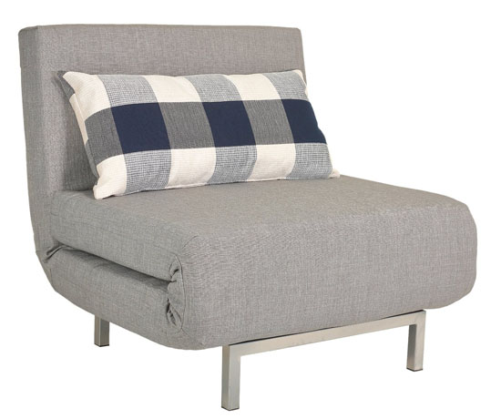 Cortesi Home Savion Convertible Accent Chair Bed
