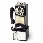 Crosley CR56 1950s Pay Phone Will Be A Perfect Addition To Your Collection Of Antique  Decors