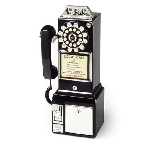 Crosley CR56 1950s Pay Phone