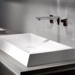 Experience a Familiar yet Unusual Washbasin Design with the Crystalline