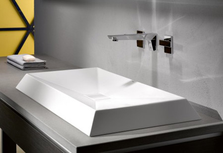Experience a Familiar yet Unusual Washbasin Design with the ...