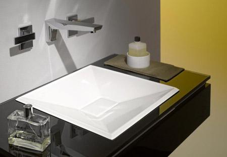 Crystalline Wash Basin