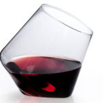 Cupa-Vino Set of 2 Wine Glasses Feature Pointed Bottom Design for Better Aeration