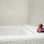 Penny Round Tiled Bathtub ?
