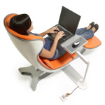 Working and Relaxing at The Same Time with Daybed Louge Chair
