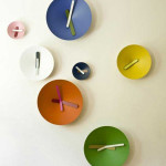 Decorative Colorful Wall Clocks By Giovanni Levanti