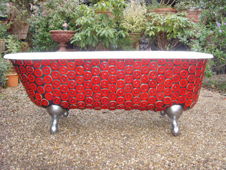 Designer Cast Iron Bath