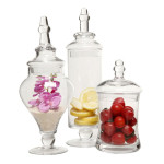 Designer Clear Glass Apothecary Jars Gives You The Chance To Serve Foods In Style