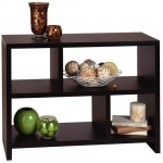 Designs-2-Go Bookend Console Table Is Your Stylish Table And Shelf In One