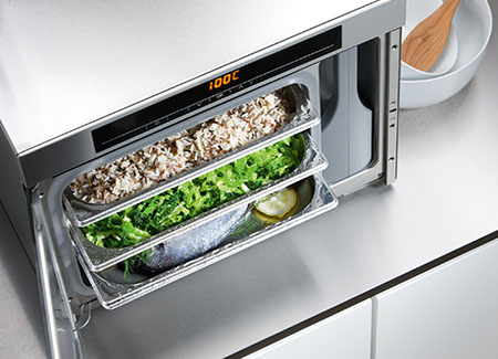 Countertop Steam Oven : DG 1450: A Countertop Steam Oven For A Stylish And Healthy Cooking In ...
