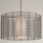 Downtown Mesh Drum Chandelier by Hammerton Studio Is A Perfect Décor And Illumination In One