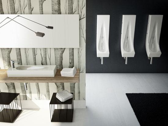 Drop Narrow Urinal by Meneghello Paolelli Associati