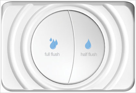 Image result for dual flush toilet