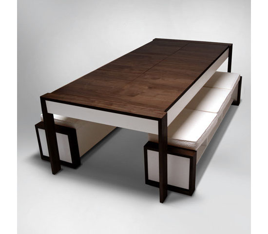 Ducduc the table is your space saving dining table at home for Space saving dining table