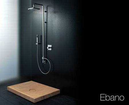 ebano wooden washbasin
