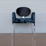 Modern Eboli Dining Chair is Inspired by 18th Century Chairs