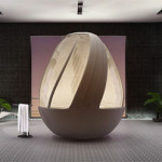 The Egg Shower: Experience Spa In A Cocoon
