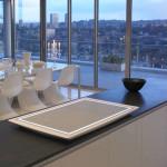 Minimalist and Futuristic Electrolux Aurora Cooktop