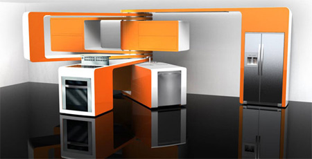 electrolux futuristic kitchen design 2008 winners