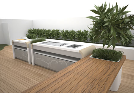 Electrolux Outdoor Kitchen