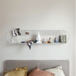 Hold Your Small Items In Style With Elegant Home Accessories Like The Loop Shelf